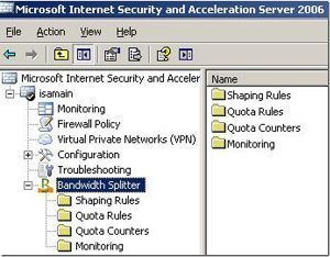 Controlling Bandwidth Usage in ISA Server