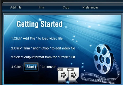 How to Convert MP4 to AVI