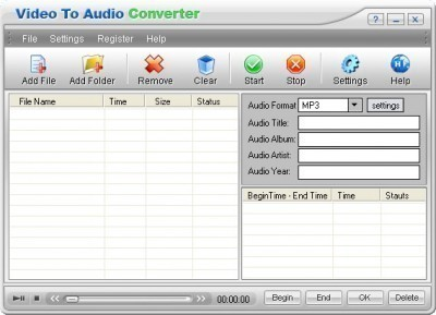 How to Convert VCD to MP3