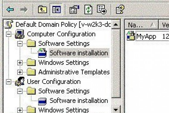 Deploying Software through Group Policy