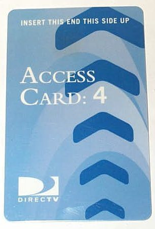 DirecTV Access Card P4