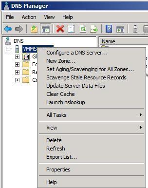 DNS Server Roles