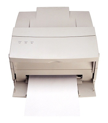 how does laser printers work