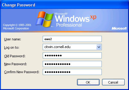 How to Change your Windows Password