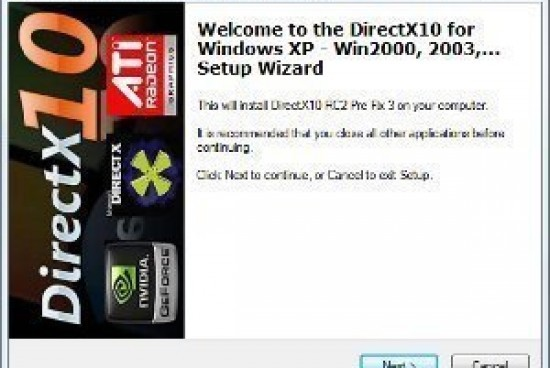 How to Install DirectX