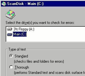 How to Scan Disk