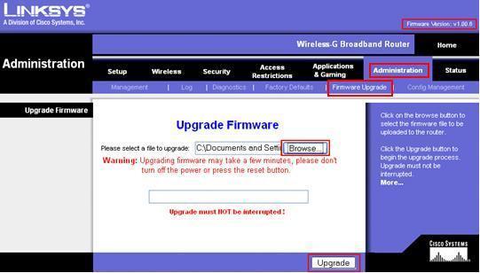 Firmware Treiber Update