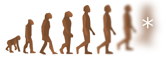 The future of human evolution is up to us.
