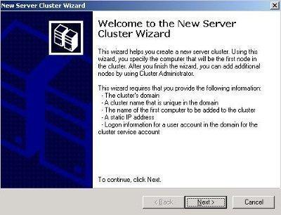 Installing Exchange Server 2003 Clusters