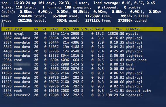 Top Linux