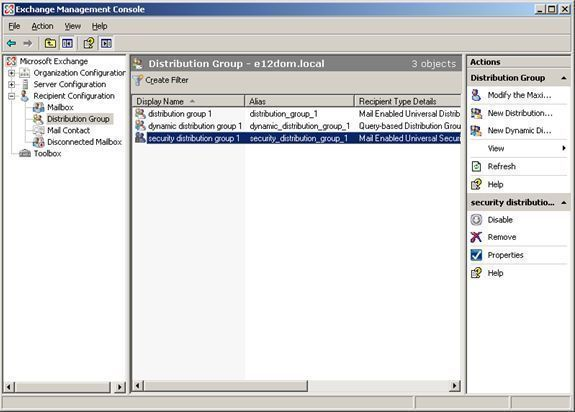 Managing Recipient Objects, Address Lists, and Distribution and Administrative Groups