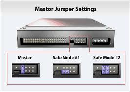 Maxtor Jumper Settings