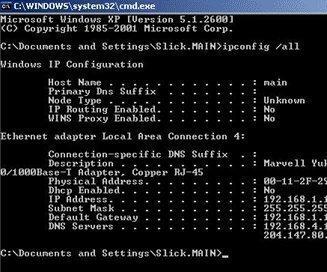 NetBIOS Node Types