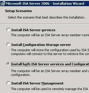 Planning for ISA Server Installation