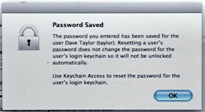 How to Reset a Mac OS X Keychain Password