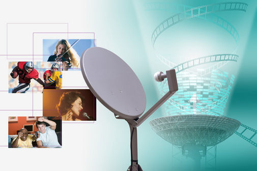 History of satellite television