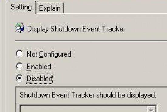 The Shutdown Event Tracker