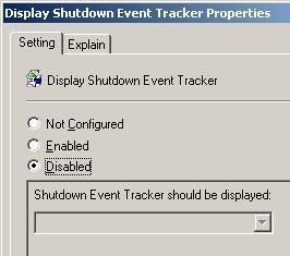 The Shutdown Event Tracker