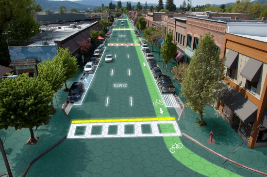 Solar Roadways electric road
