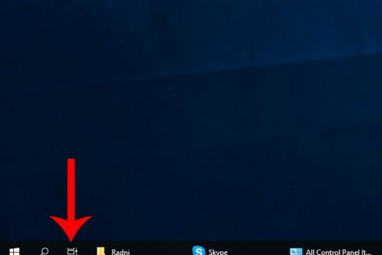 How to Remove Task View Button from Windows 10 Task Bar?