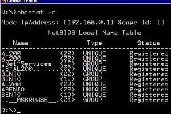 Understanding NetBIOS Name Resolution