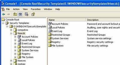 Understanding Security Templates