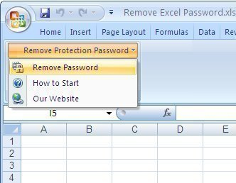 remove excel sheet password protection