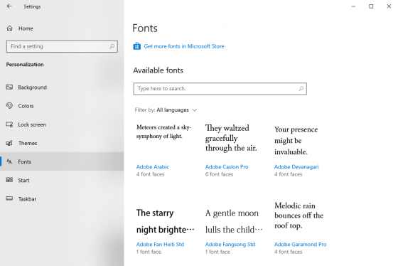 Windows 10: How to Install and Remove Fonts