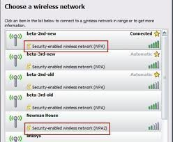 Wireless Connection Security